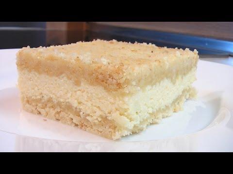 рассыпчатый пирог с творогом рецепт с фото